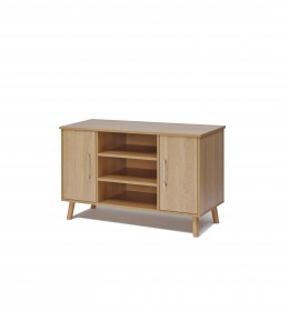 Sideboard, high, 3 shelf