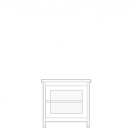 New England TV unit, small