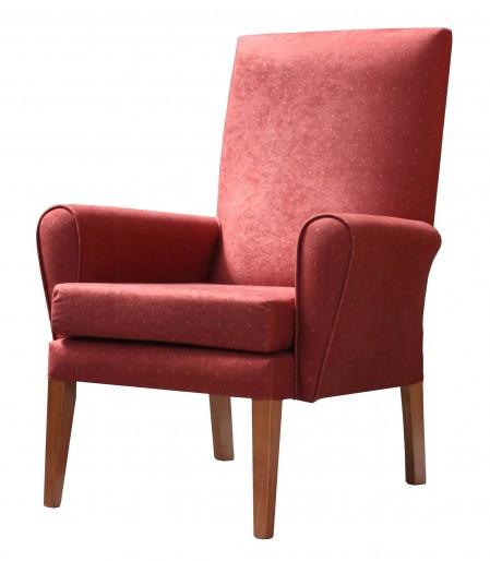 Kirkstall high back lounge chair