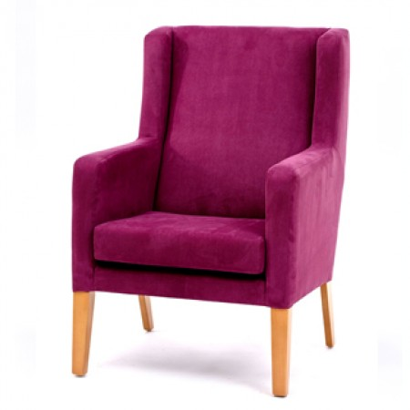 Arran high back lounge chair