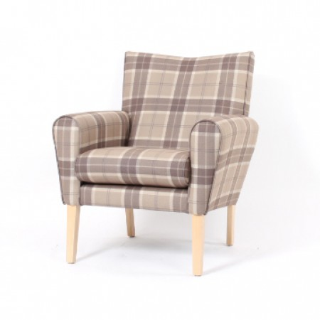 Abbey mid back lounge chair