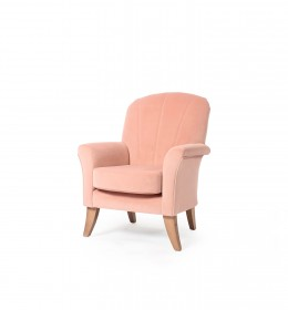 Grange Fluted Highback Contract Chair for care homes and hotels