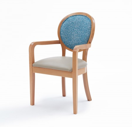 Amalfi arm dining chair
