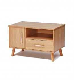 TV unit, 1 drawer, 1 shelf