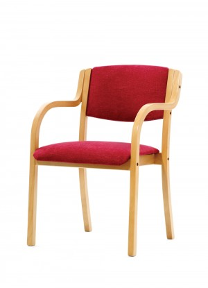 Modena arm dining chair