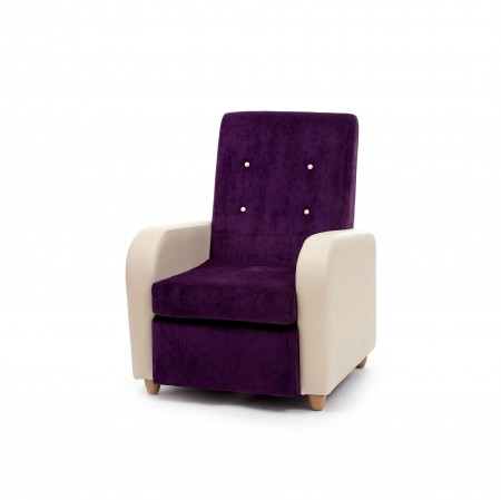 Brunswick High Back contract lounge chair for care, nursing and residential homes - ideal for cinemas