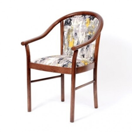 Lucca arm dining chair