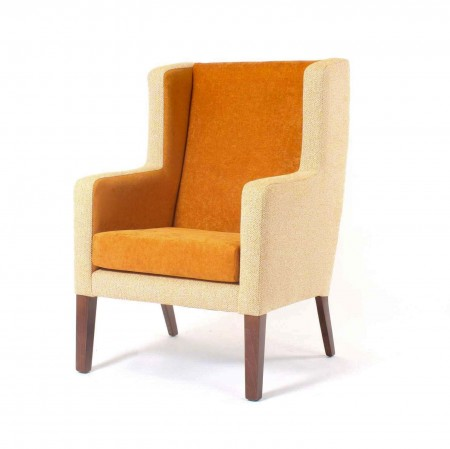 Arran high back with wings lounge chair