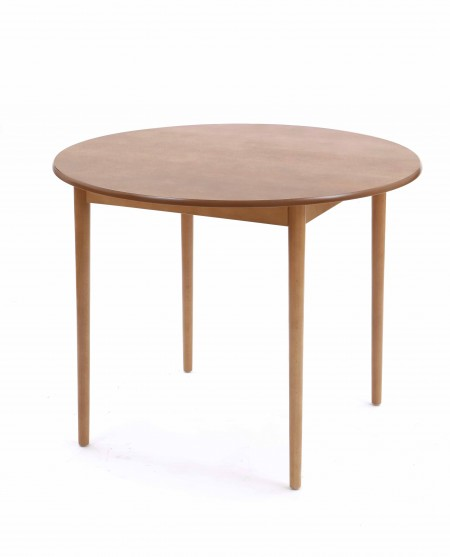 Dining table, round, standard finish