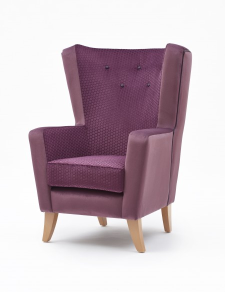Lismore high back lounge chair