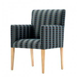 Kensington low back tub chair