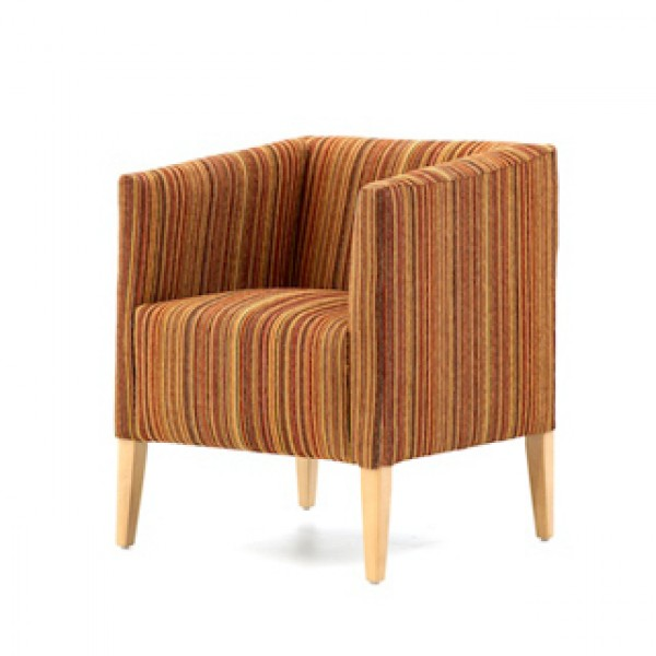 Tub Chairs / Evesham tub chair - Craftwork Contract Furniture
