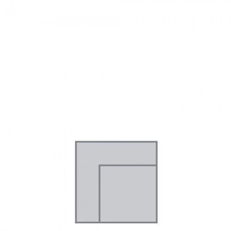 Stockholm modular, corner unit
