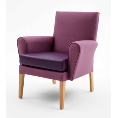 Kirkstall mid back lounge chair