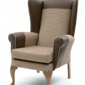 Care Home Furniture - The highly Successful Alexander Lounge Chair Now Available With A Higher Back