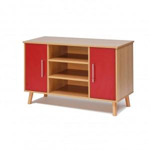Manhattan Sideboard, high, 3 shelf