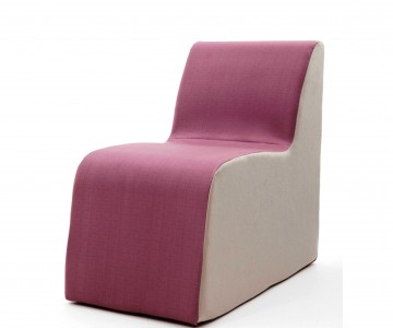 Tough Furniture - Solid Foam Chair Added To Craftwork Mental Health Furniture Range
