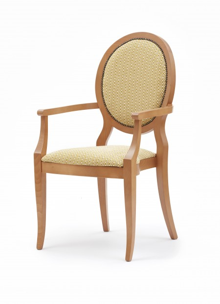 Lascari arm dining chair