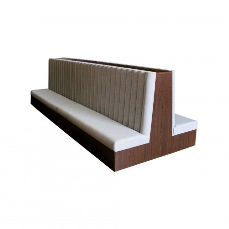 Bench seating for reception and dining areas