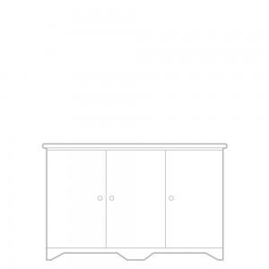 Livorno Sideboard, 3 door