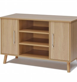 Sideboard, high, 3 shelf