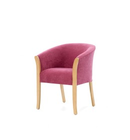 The Grosvenor fixed seat tub chair has show wood and is a great value-for-money chair for care homes and hotels