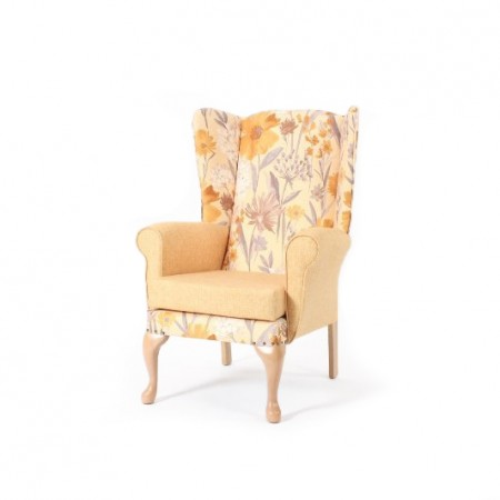Alexander high back lounge chair