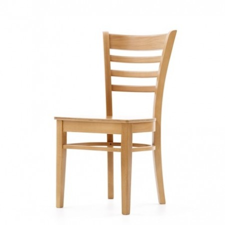 St Neots side polished dining chair