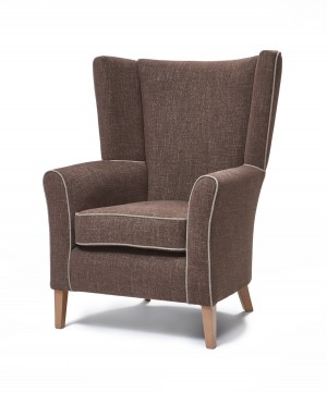 Mayfair with wings lounge chair
