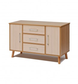 Sideboard, high, 3 drawer
