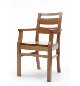 Palmanova polished arm chair