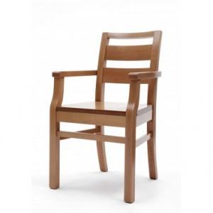 Palmanova extreme polished arm chair
