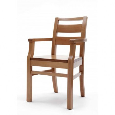 Palmanova extreme polished arm chair