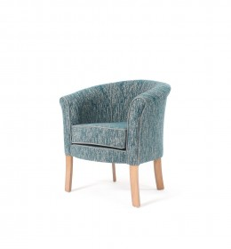 Devon popular care home lounge tub chair with contrast piping