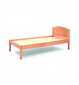 Wooden bed base for contract use