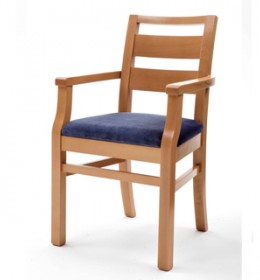 Palmanova upholstered arm chair