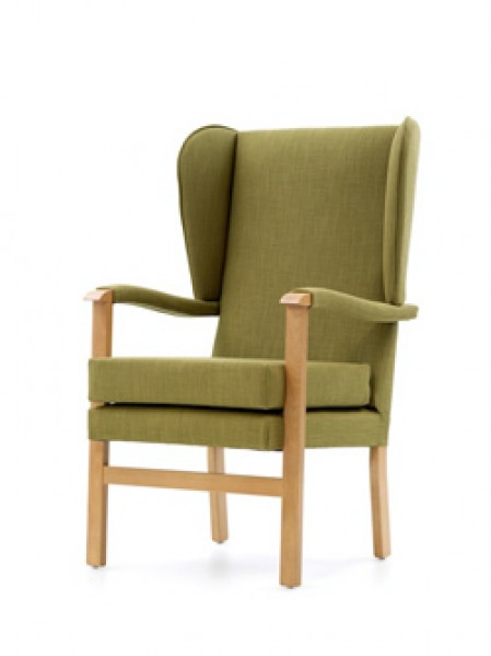 Deepdale with wings and arm pads lounge chair