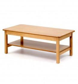 Low, retangular with shelf