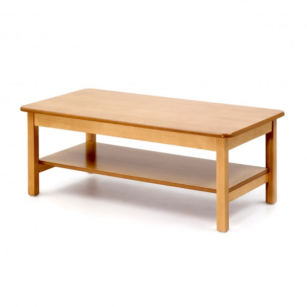 Other Designs / Low Coffee Table With Shelf, Rectangular
