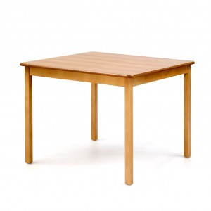 Square dining table, standard finish
