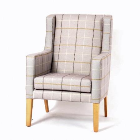 Arran high back lounge chair