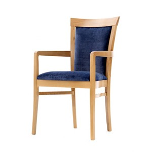 Siena arm dining chair