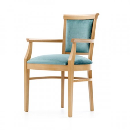 Milano arm dining chair