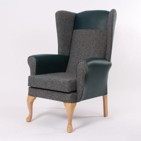 Alexander high back lounge chair