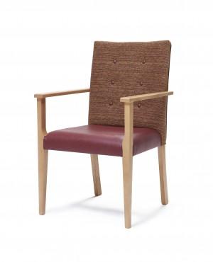 Padua arm dining chair