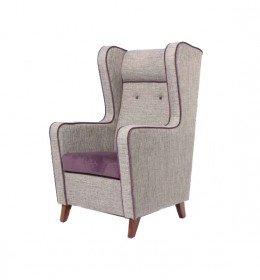 Solway High Back Unusual Statement Contract Chair