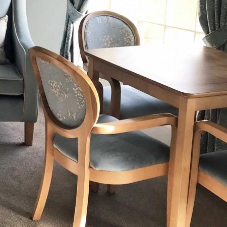 Amalfi arm dining chair