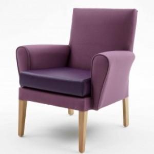 Care Home Furniture - Kirkstall Mid Back Extends Craftwork's Care Home Lounge Furniture Range