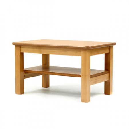 Coffee table with shelf, extreme