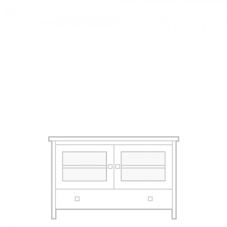 New England TV unit, large